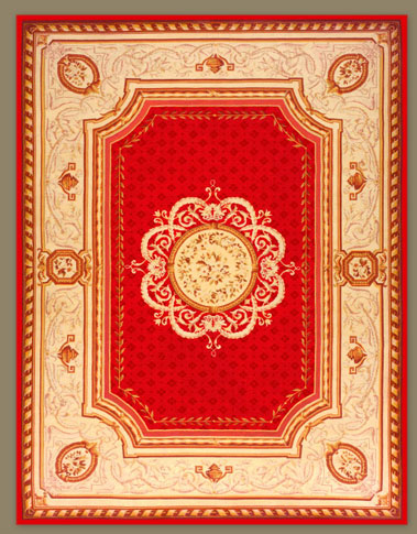 weavers art french woven rug