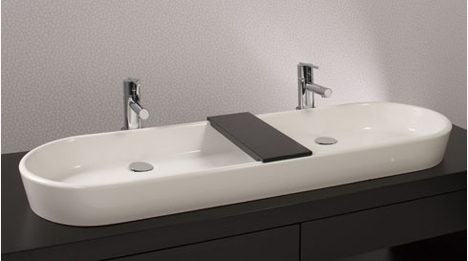 wet style ove lavatory Oval Lavatory from Wet Style   the Ove vessel for two