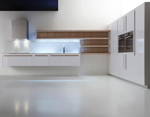 White Kitchen Of All Colors Suprema Modern Kitchens By Moka