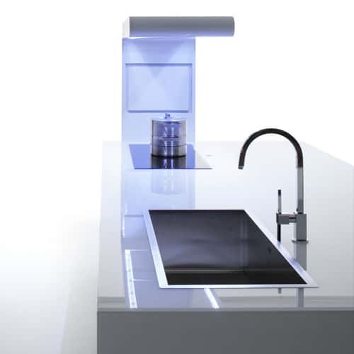 white kitchen of all colors suprema modern moka 5