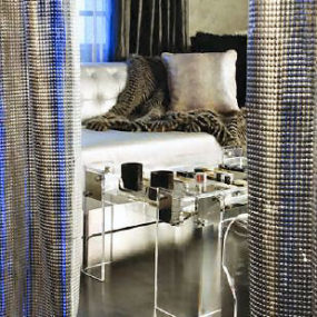 Metal Mesh by Whiting & Davis – the luxury material for your home decor