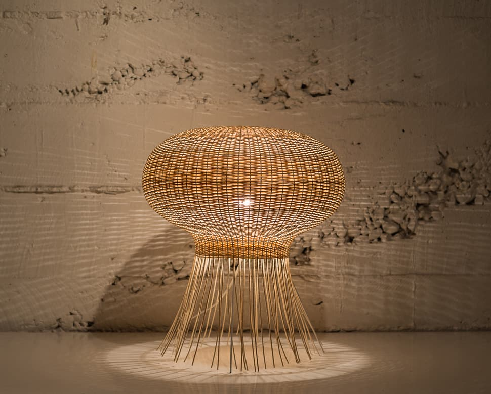 View In Gallery Wicker Lamps From Made In Mimbre 4