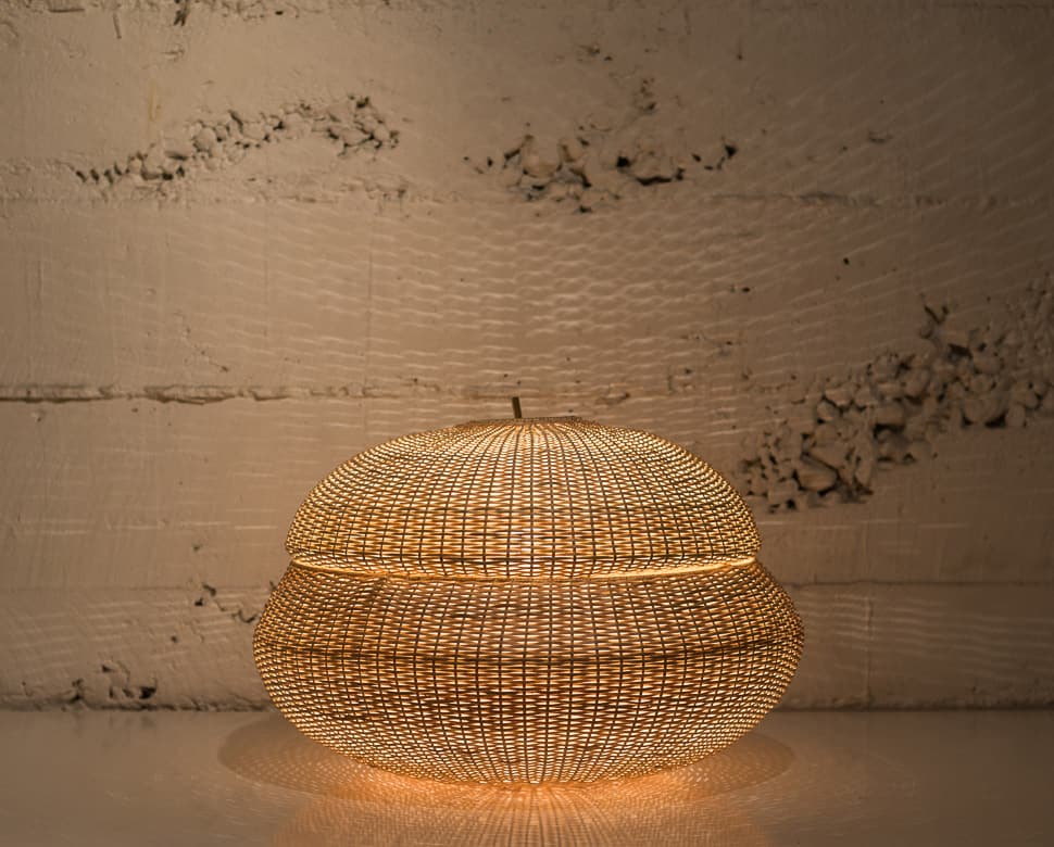 View In Gallery Wicker Lamps From Made In Mimbre 5