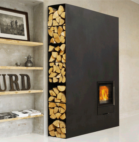 Wood Fireplace Stove by Wittus – new Cubic