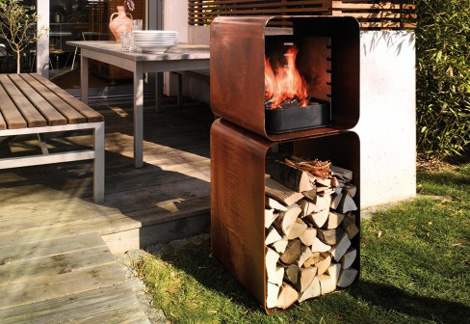 wodtke barbecue gryll L 2 Barbecue Fire Pits   Gryll L fire pit grill by Wodtke