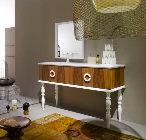 wonderful wooden vanities ypsilon 2 Wonderful Wooden Vanities by Ypsilon