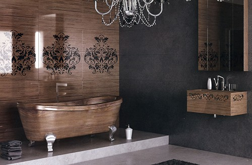 wood bathroom design ideas flora fusion 1 Wood Bathroom Design Ideas by Flora   new Fusion Style bathroom line