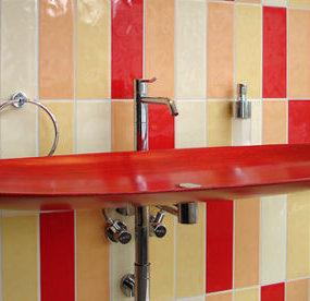 Wood Bathroom Sink by Flowood – Classic line wooden sink