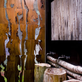 Wood Wall Covering – panels by SDA