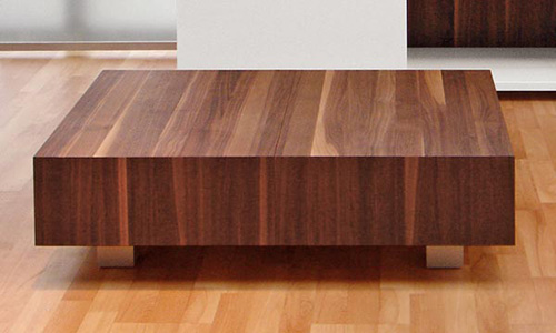 wooden coffee tables sliding top schulte design 4