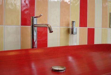 wooden sink flowood classic line
