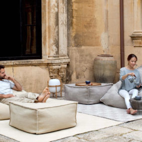 Wool Bean Bag Spaces from GAN: Sail Collection