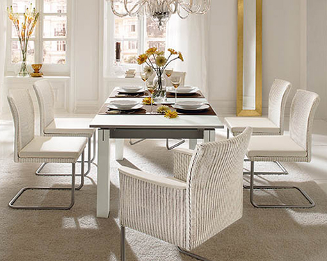 Woven Dining Room Furniture2 Accente