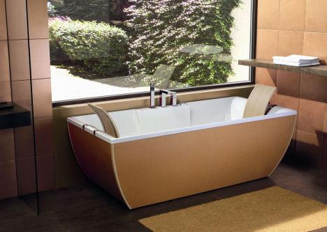 ws bath collection kali art leather bathtub