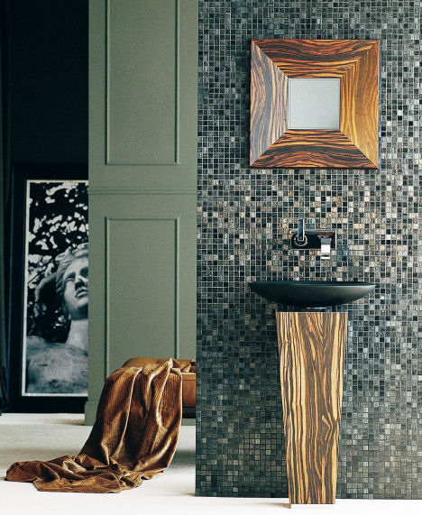 ws bath collections fontana console Contemporary Bathroom Furniture from WS Bath Collections   the new Concert collection