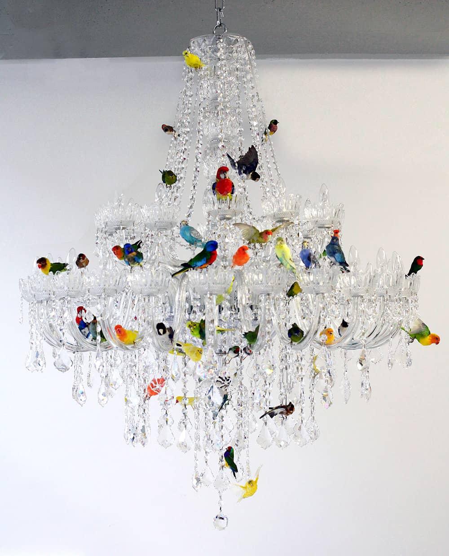 buy online a2884 c7c85 XL Bird Chandelier by Sebastian Errazuriz