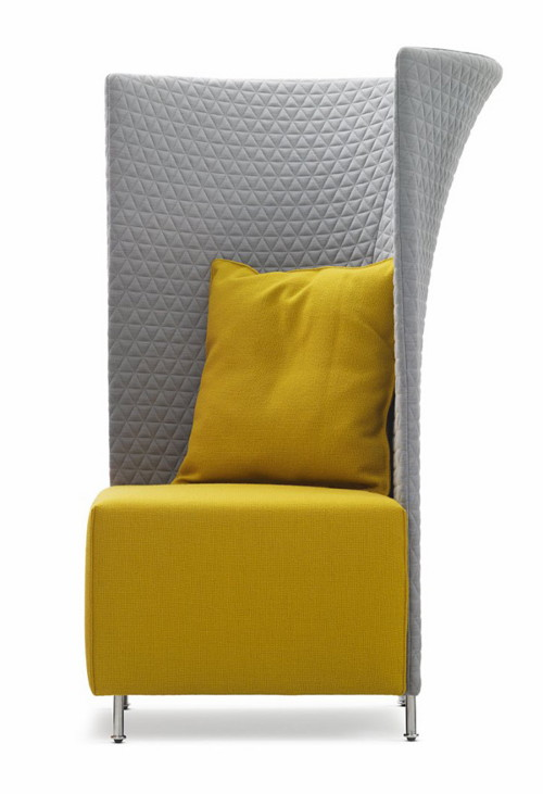 View In Gallery Yellow Flair Chair Montis Scene Xxl 2 Flair Chair By  Montis: Scene XXL