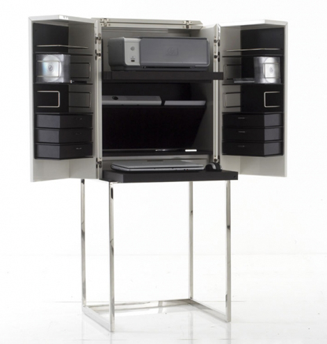 yomei cabinet magic cube 3 Modern Dressing Cabinet from Yomei   Magic Cube can become a bar or a computer center!