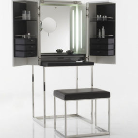 Modern Dressing Cabinet from Yomei – Magic Cube can become a bar or a computer center!