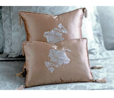 yves delorme venise mist pillow Yves Delorme bed linens   the Venise luxury French bedding