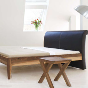 Contemporary Bed by Zack Design – Exotic Wood & Leather new collection 2008 beds