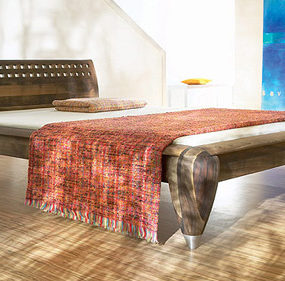 Contemporary European Bed from Zack Design – Exotic Wood beds