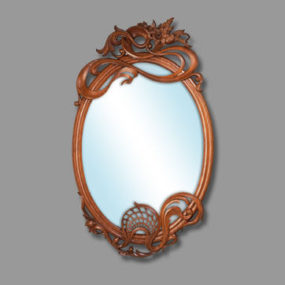 Elegant Carved Mirror Frames from Zakurdayev