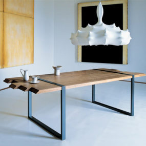 Cool Dining Table by Zanotta – Raw