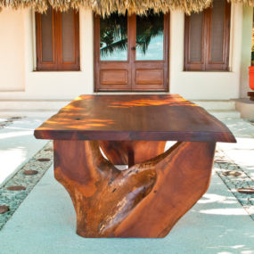Gorgeous Salvaged Wood Dining Table
