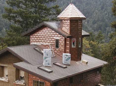Zappone Copper Vertical Walls Copper Shingles From Zappone The Earth  Friendly Copper