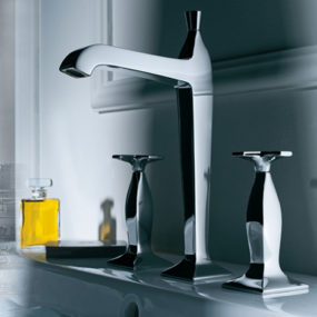 Fascinating, Retrospective Faucet from Zucchetti – Bellagio faucet