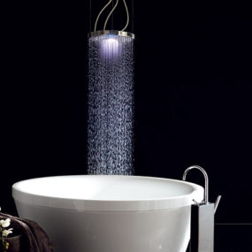 Oversized Showerhead from Zucchetti – XL Z94 brings you your own personal cloudburst!