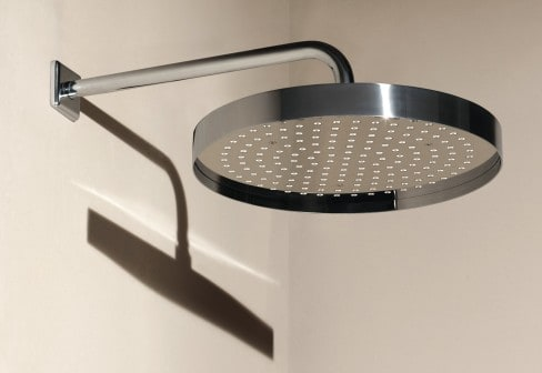 zucchetti shower head round 1 Simple Shower Head with Rim by Zucchetti