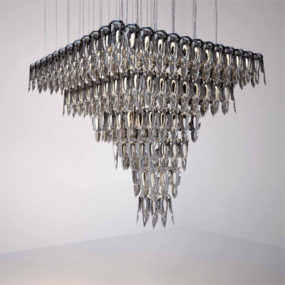LED Chandelier from Zumtobel – LQ chandeliers