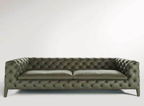 arketipo sofa windsor 2 Chic Leather Sofa: Windsor by Arketipo