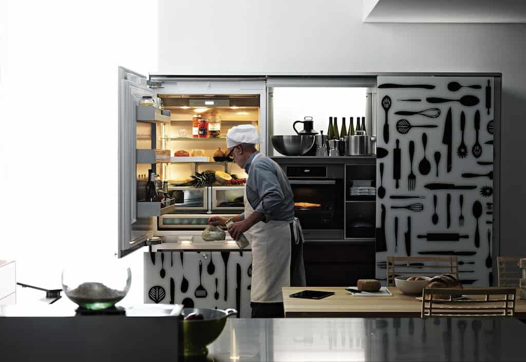 Inlay Wooden Craftsman Kitchen - Valcucine SineTempore