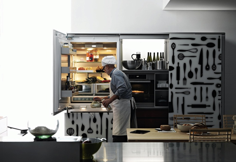 Artfully Innovative Modern Kitchen Appliances From Valcucine Artematica Inox