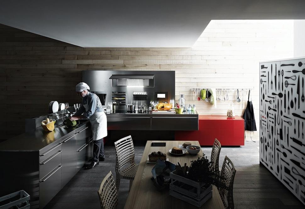 Modern Kitchen Appliances artfully innovative modern kitchen appliances from valcucine