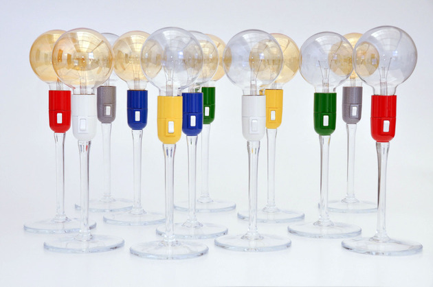 cheerful champagne glass shaped table lamps 1 thumb 630x418 28945 Champagne Glass Shaped Table Lamps