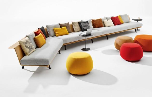 versatile modular sofa system zinta from arper 1 thumb 630xauto 42818 Versatile Modular Sofa System: Zinta from Arper