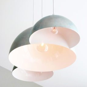 Cloud Triple Pendant Lamp by Clark Bardsley
