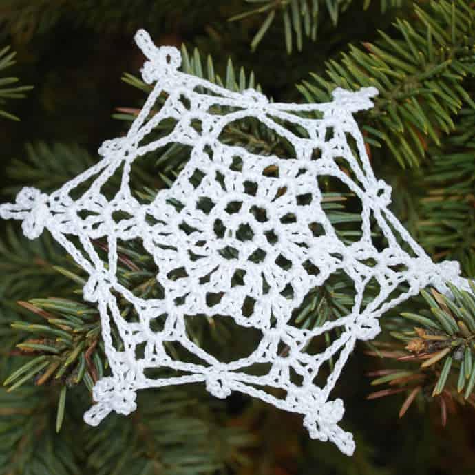 Crocheted Christmas Tree Ornaments