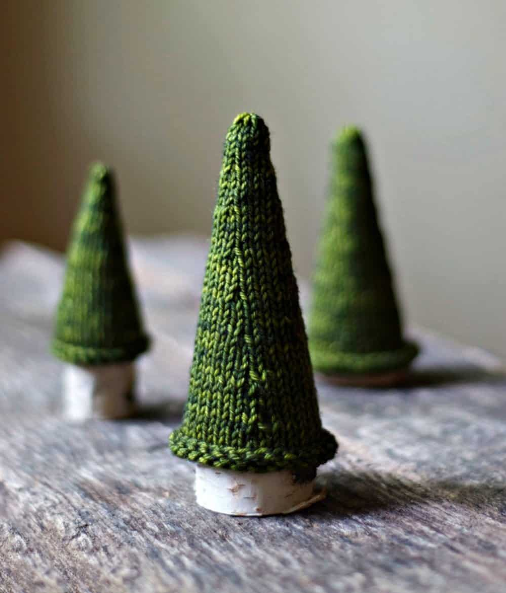 21 Table-size Christmas Trees to Set the Holiday Mood