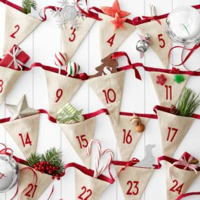 12 11 christmas advent calendars updated styles for a traditional favorite - German Handmade Wooden Christmas Decorations