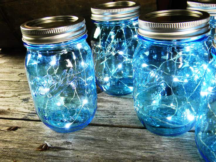 Mason Jar Christmas Centerpiece 16 Modern Easy DIY Ideas