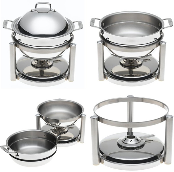 all clad chafing dish round parts Stainless Steel Chafing Dish from All Clad   round
