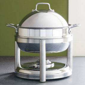Stainless Steel Chafing Dish from All-Clad – round