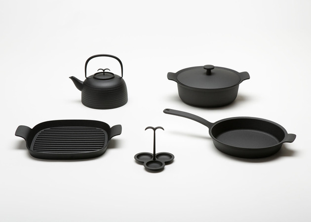 palma cast iron cookware by japer morrison for oigen 1 thumb 630x450 16221 Palma cast iron cookware by Japer Morrison for Oigen
