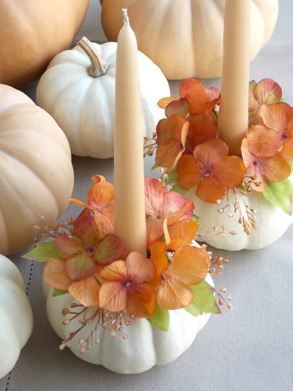 12 modern ways to decorate a pumpkin without carving