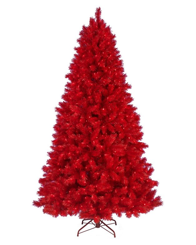 colors you%20never%20 expected for a christmas tree 1 thumb autox787 48973 Unusual Christmas Tree Colors to Brighten Your Holiday